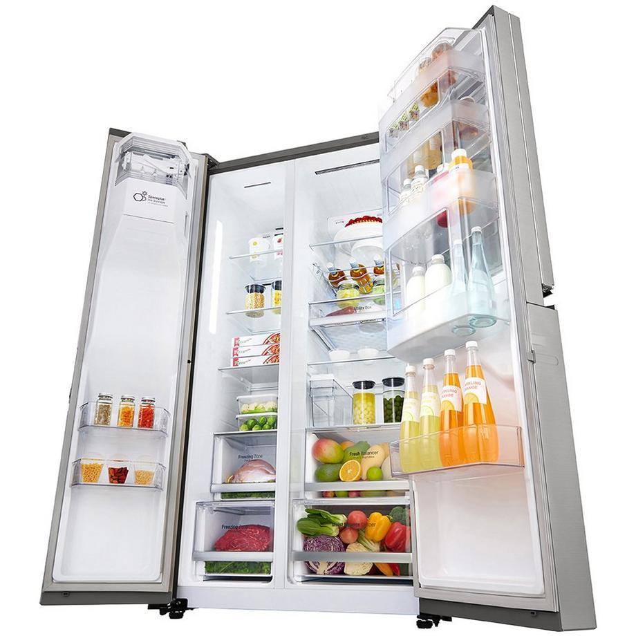 LG GSX960NSVZ InstaView Door-in-door American-style fridge ...